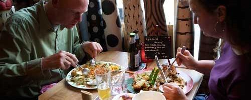Uiteten Javaans eetcafé Groningen