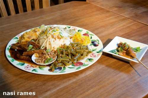 rijstschotel javaans eetcafe