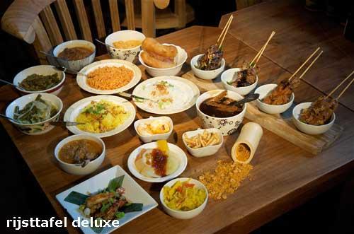 rijsttafel deluxe javaans eetcafe